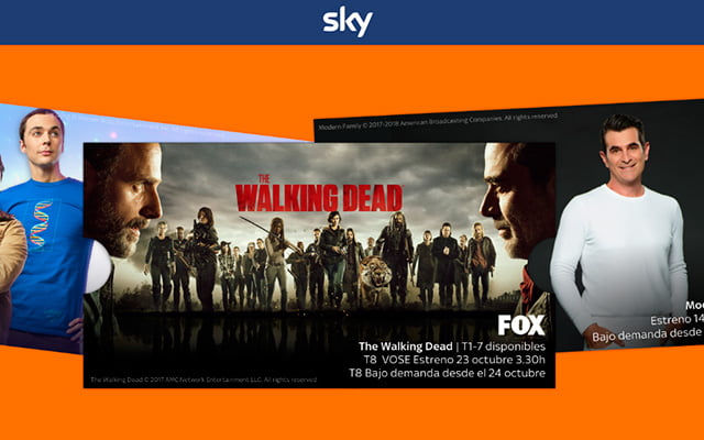 The Walking Dead, en Sky TV
