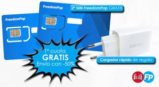 Tarifa FreedomPop en Movilonia.com