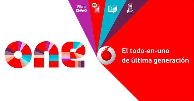 Vodafone One con fibra Ono