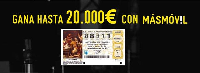 lotería de Masmóvil