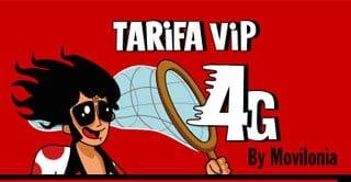 mejora de tarifa VIP 4G