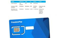 FreedomPop lanza una nueva tarifa a través de Movilonia.com