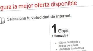 fibra Vodafone de 1Gbps