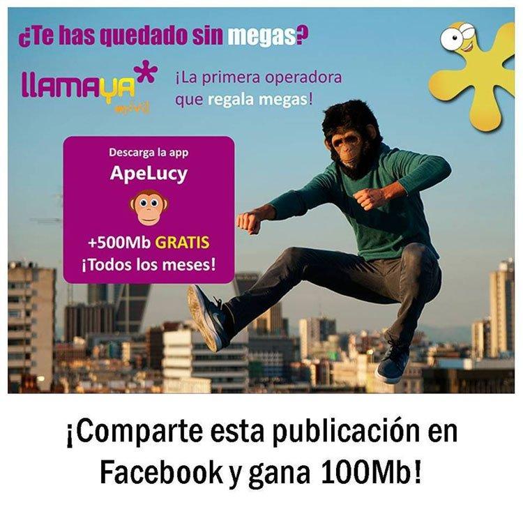 ApeLucy ya está integrada con Llamaya Móvil