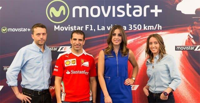 La Fórmula 1, en Movistar+