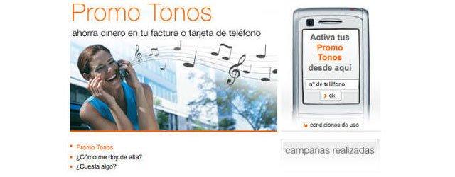 Promo Tonos de Orange