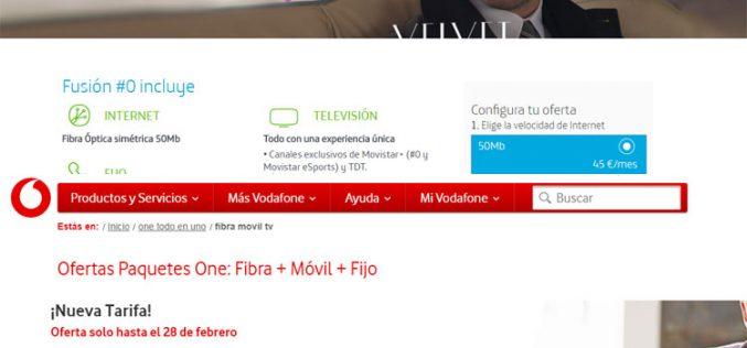 Vodafone One Light vs Movistar Fusión #0: ¿Cuál conviene más?