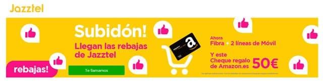 oferta Amazon de Jazztel