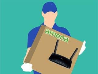 gastos de envío del router 4G de Amena