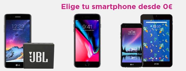 smartphones gratis de Jazztel