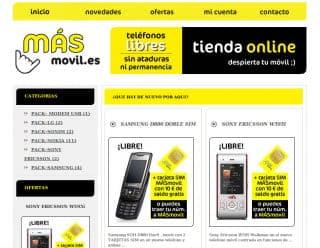 Masfono, tienda online de Masmóvil