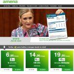 anuncio de Amena con Cristina Cifuentes