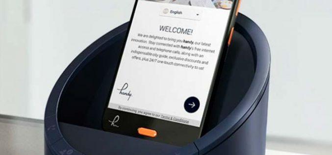 Handy, el móvil de los hoteles