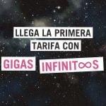 Tarifa con gigas infinitos de Yoigo