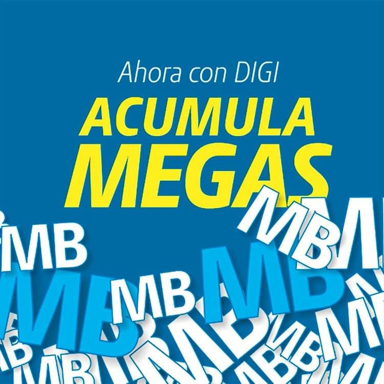 Acumula megas en Digi