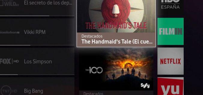 Vodafone TV refuerza con Axn Now su apuesta por las series y el cine