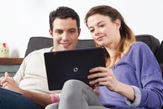 Vodafone TV desde el tablet