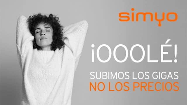 nuevas tarifas de Simyo