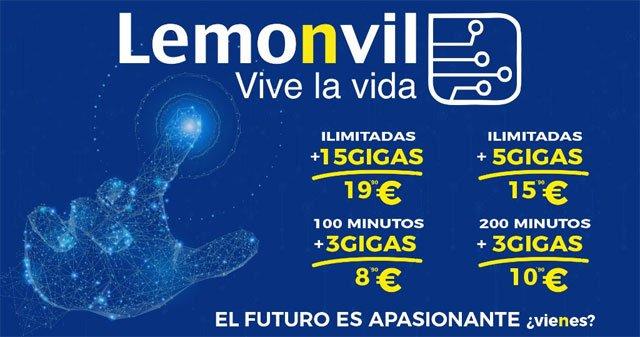nuevas tarifas Lemonvil octubre 2018