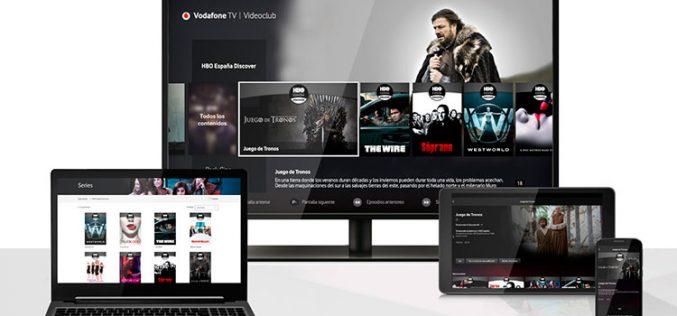 Vodafone TV mejora su videoclub gracias a su alianza con HBO España