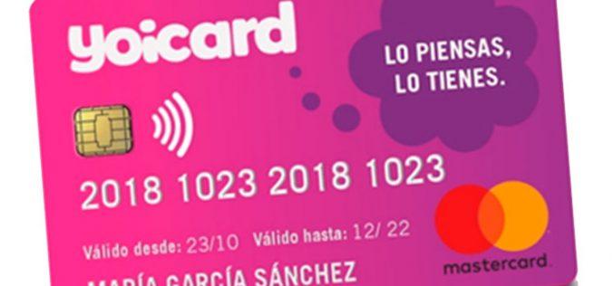 Yoicard, la tarjeta de Yoigo que ofrece servicios financieros