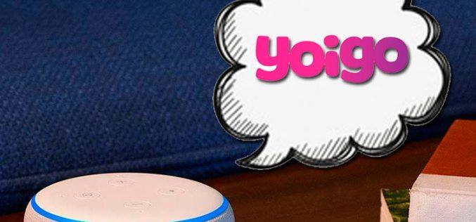 Alexa, cuéntame las ofertas de Yoigo