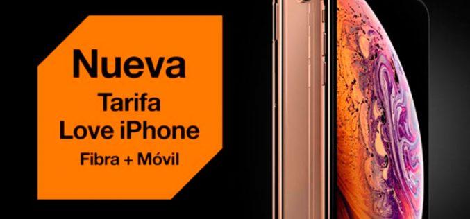 Love iPhone, la nueva tarifa convergente de Orange para los amantes de Apple