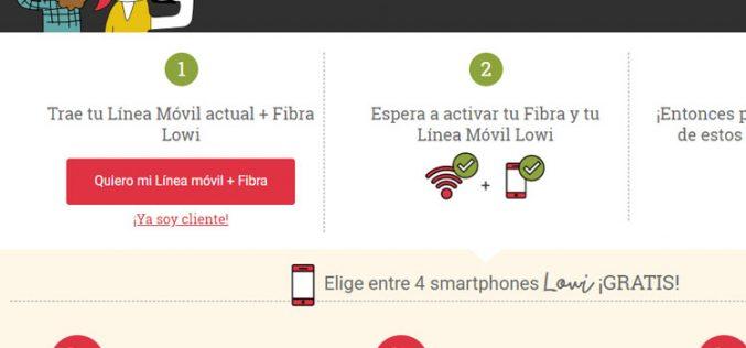 Lowi se moviliza por el Black Friday: smartphones gratis