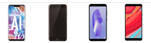 smartphones de la oferta de Black Friday de Lowi