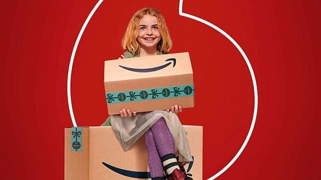 Amazon en Vodafone
