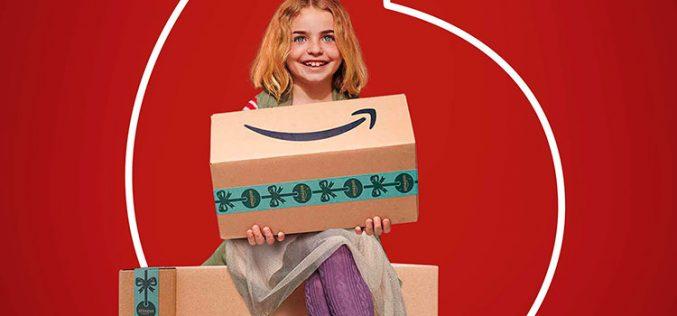 Amazon Prime llega a Vodafone como regalo de Navidad