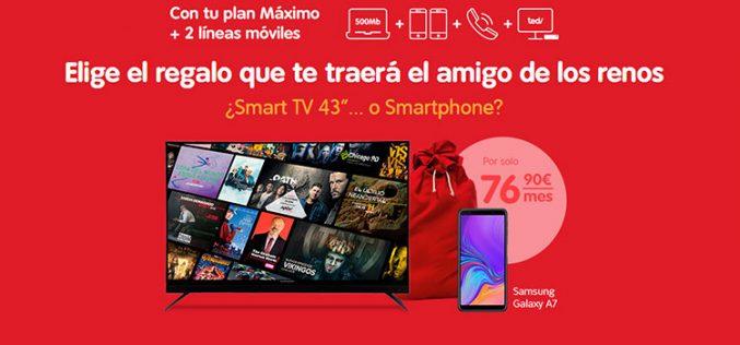 La carta de los Reyes Magos de Telecable: elige entre televisor o smartphone