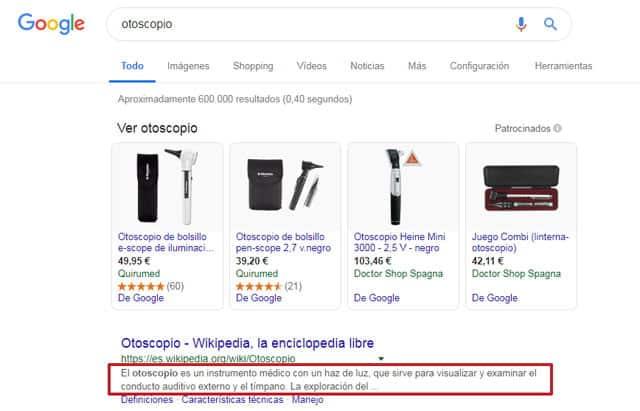 buscar respuestas en Google