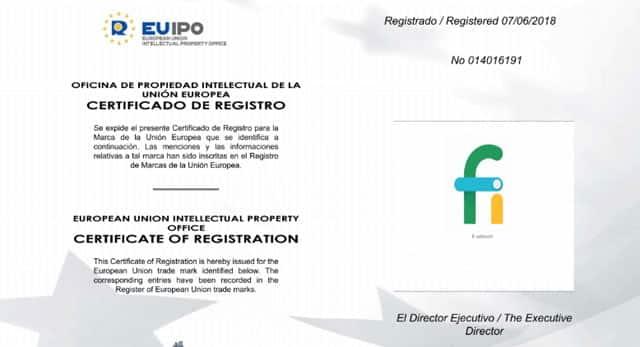 registro de la marca Fi Network