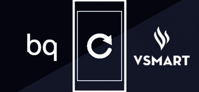 Cómo afecta el cambio de marca de Bq a Vsmart