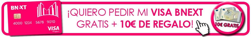10 euros gratis con Bnext