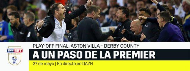 Dazn emite la final de la Playoff de la EFL Championship