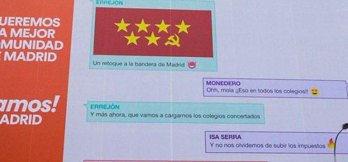 La Comuna de Madrid, el nuevo grupo de WhatsApp de Ciudadanos
