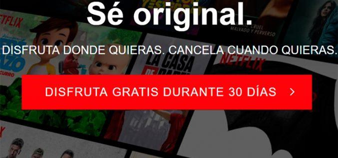 Netflix se arrepiente y vuelve a regalar el primer mes a los nuevos suscriptores