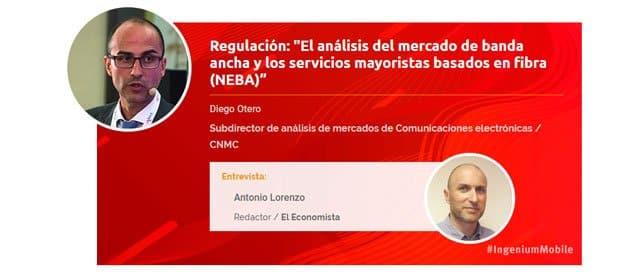 Diego Otero, subdirector de análisis de mercados de comunicaciones electrónicas (CNMC)