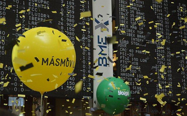 El grupo Masmóvil entra en el Ibex-35