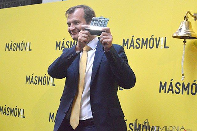Meinrad Spenger, cofundador y consejero delegado del grupo Masmóvil