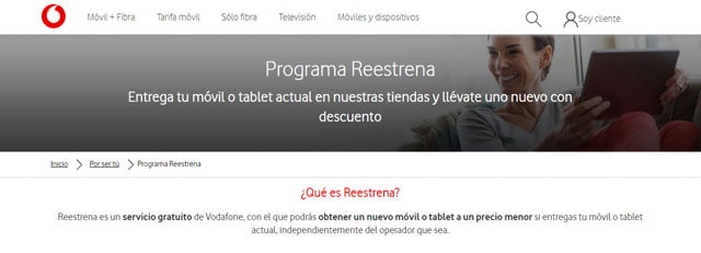 Vodafone Reestrena