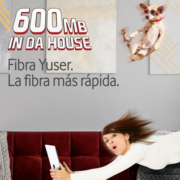 Fibra Yuser de Vodafone