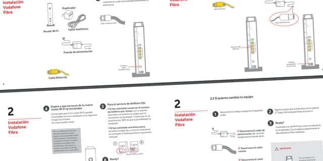 instrucciones de autoinstalación del router de Fibra Yuser