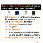 fútbol en Orange TV para la temporada 2019-2020