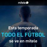 fútbol en Mitele Plus, del grupo Mediaset