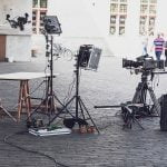 grabación de la primera serie para Orange TV