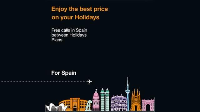 tarjeta SIM Holidays Spain
