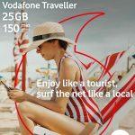 Vodafone Traveller, tarjeta SIM para turistas